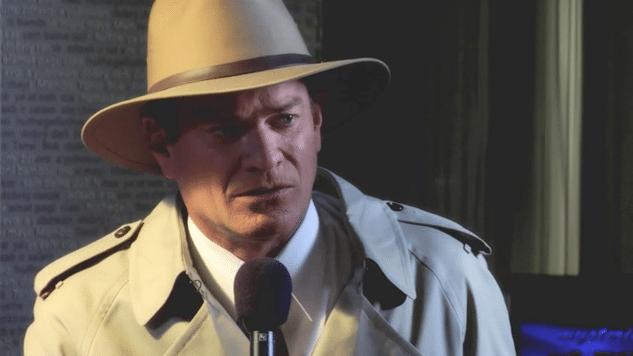 Presenter With Microphone – Microsoft Mysteries Video Still – GoodSide Studio Seattle