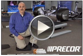 Precor Video still – GoodSide Studio, Seattle Video Production