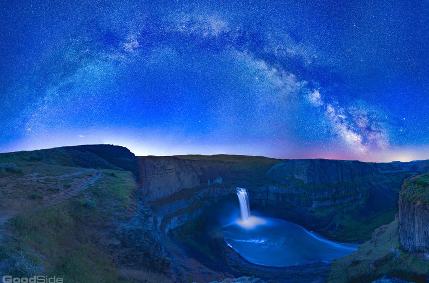 Palouse Falls Milky Way – GoodSide Studio